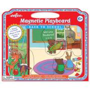 Eeboo - Magnetische Spieltafel In die Schule gehen