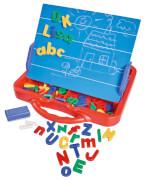 Art & Fun ABC Magnettafel im Koffer