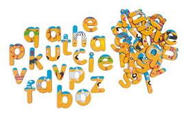Scratch - Magnete 60 Buchstaben Safari