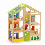 Hape Vier-Jahreszeiten Haus (möbliert)