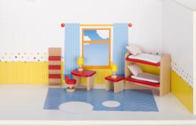 GoKi Puppenmöbel Kinderzimmer, goki basic.