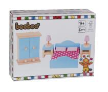 Beeboo Puppenhausmöbel Schlafzimmer