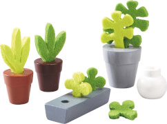 HABA Little Friends  Puppenhaus-Zubehör Blumen & Pflanzen