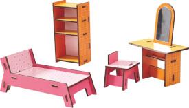 HABA Little Friends  Puppenhaus-Möbel Beauty-Ecke