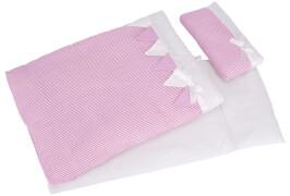 GoKi Puppenbettzeug rosa Streifen