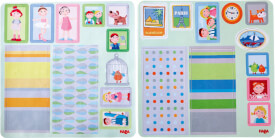 HABA Little Friends  Puppenhaus Klebe-Deko-Accessoires