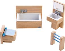 HABA - Little Friends - Puppenhaus-Möbel Badezimmer