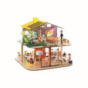 Puppenhaus: Farbiges Haus