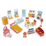 Tenderleaftoys - Starter Set Townhouse für Puppenhaus