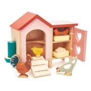 Tenderleaftoys - Hühnerstall für Puppenhaus
