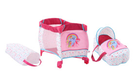 My Little Pony 2-in-1 Puppen-Reisebett