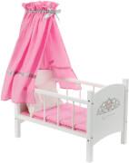 KNORRTOYS 67229 Puppen-Himmelbett Royale Princess
