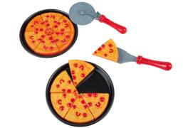 Pizza-Set mit Pizzaschneider
