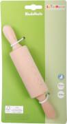 SpielMaus Holz Nudelholz klein, ca. 21 cm, Küchenspielzeug, ca. 3,6x3,6x21 cm ab 3 Jahren
