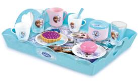 Disney Frozen - Die Eiskönigin Serviertablett mit Teeservice, 16-teilig