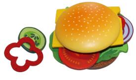 Food Bag Hamburger aus Holz