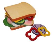 Food Bag Sandwich aus Holz
