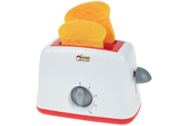 Toaster, Farbe: Rot/Weiß,