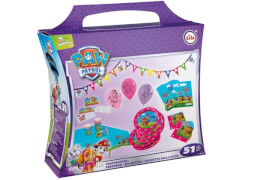 Party-Koffer ''Paw Patrol - Mädchen'', 51-tlg./Party-Koffer