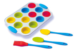 Mini Cupcake-Set, 16-teilig