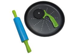 Mini Pizza Set für Kinder, 3-teilig