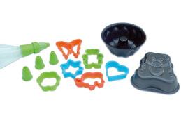 Backformen Set für Kinder, 9-teilig