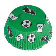 48 Muffinförmchen Kicker Party