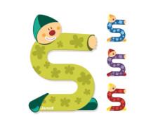 Buchstaben Clown S