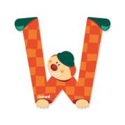 Buchstaben Clown W