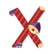 Buchstaben Clown X