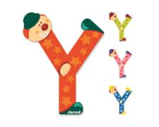 Buchstaben Clown Y