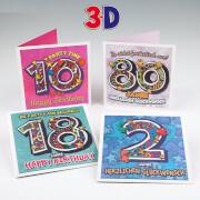 Depesche 4741 Zahlenkarten 3D