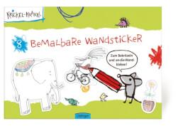 Krickel-Krakel Bemalbare Wandsticker
