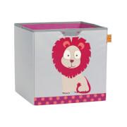 Lässig Lässig 4Kids Toy Cube Storage Wildlife  Lion
