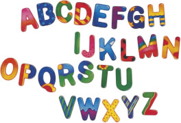 Selecta Alphabet A, 4er Set