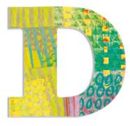 D - Peacock Holzbuchstaben