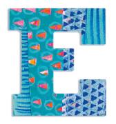 E - Peacock Holzbuchstaben