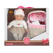 TOITOYS LOVELY BABY Babypuppe 32cm mit Reiseb