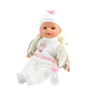TOITOYS LOVELY BABY Babypuppe 32cm Winterkleidungflasche