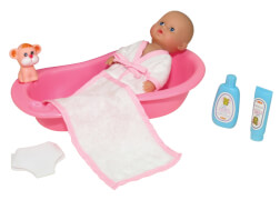 Amia Bade Baby-Set mit Zubehör, ca. 20 cm