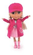 Puppe Lisa mit Reiseset, ca. 30 cm