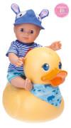 Schildkröt Puppe ''Badebaby Leon Entchen'' inkl. Entchen, ca. 30 cm, ab 24 Monate