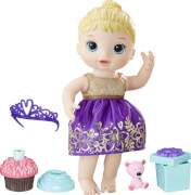 Hasbro E0596ES0 Baby Alive Geburtstagsspaß-Baby, blond, ab 3 Jahren