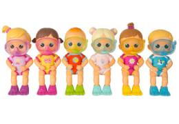 Bloopies Badepuppen, 6 verschiedene Charaktere