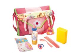 Puppen-Wickeltasche mit Zubehör