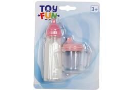 Toy Fun Milchflaschen mit Zubehör