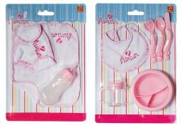 Amia Lätzchen- und Zubehörset für Puppen