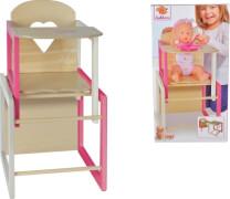 Simba Eichhorn Puppenhochstuhl mit Tisch