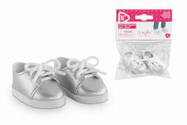 Corolle MCC silberne Schuhe