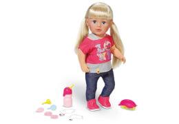 Zapf BABY born® Interactive Sister, ab 3 Jahren, Mehrfarbig